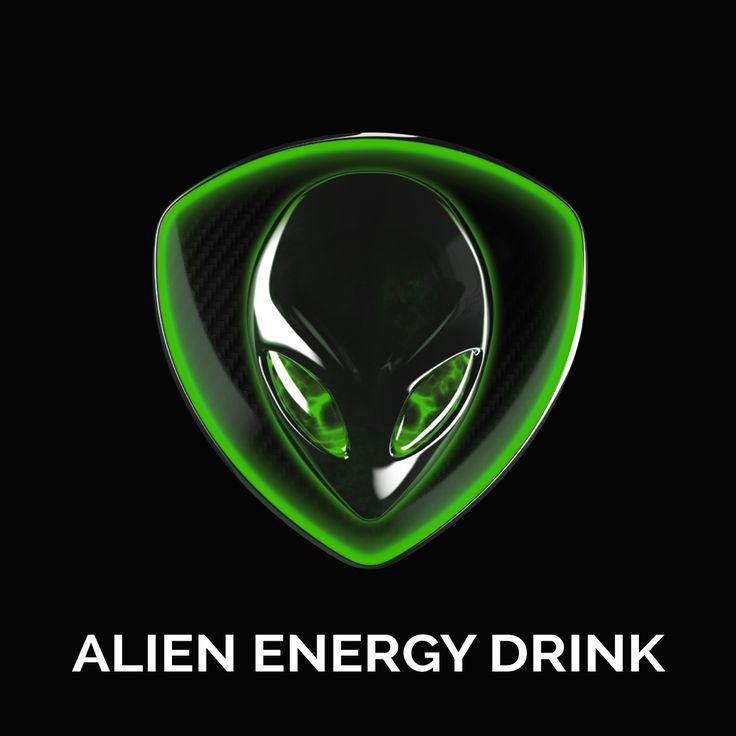 3D ALIEN ENERGY Logo
