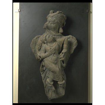 Sculpture - Garuda abducting Queen Kakati