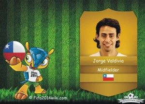 Jorge Valdivia - Chile Player - FIFA 2014