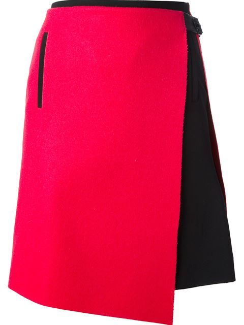 Balenciaga asymmetrical wrap skirt