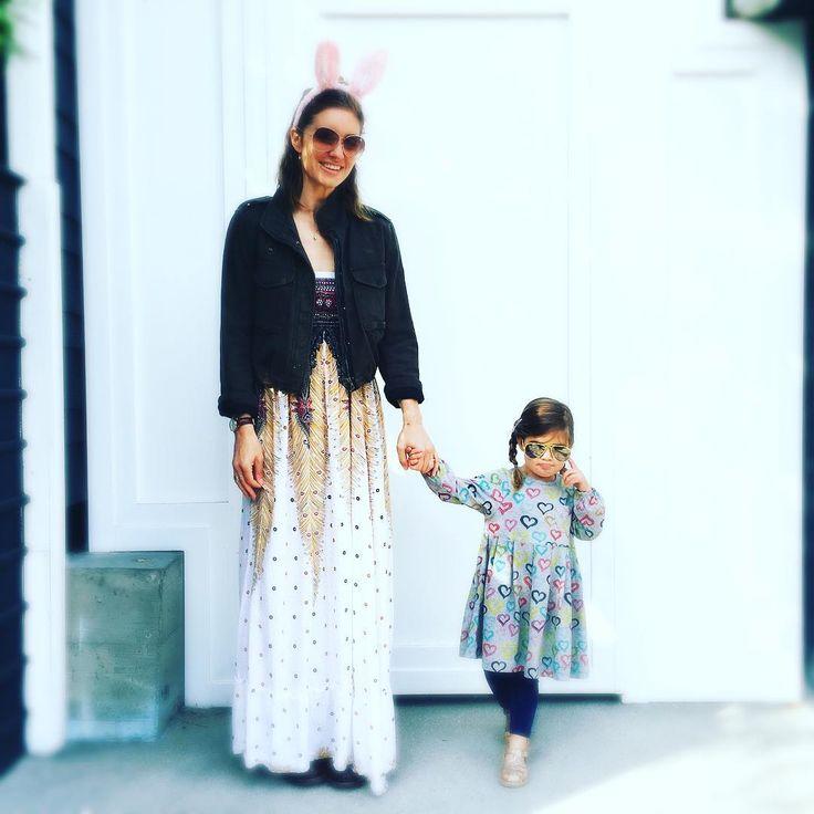 "Bianca Kajlich on Instagram: ""Peace and Love💖🐰💖"""