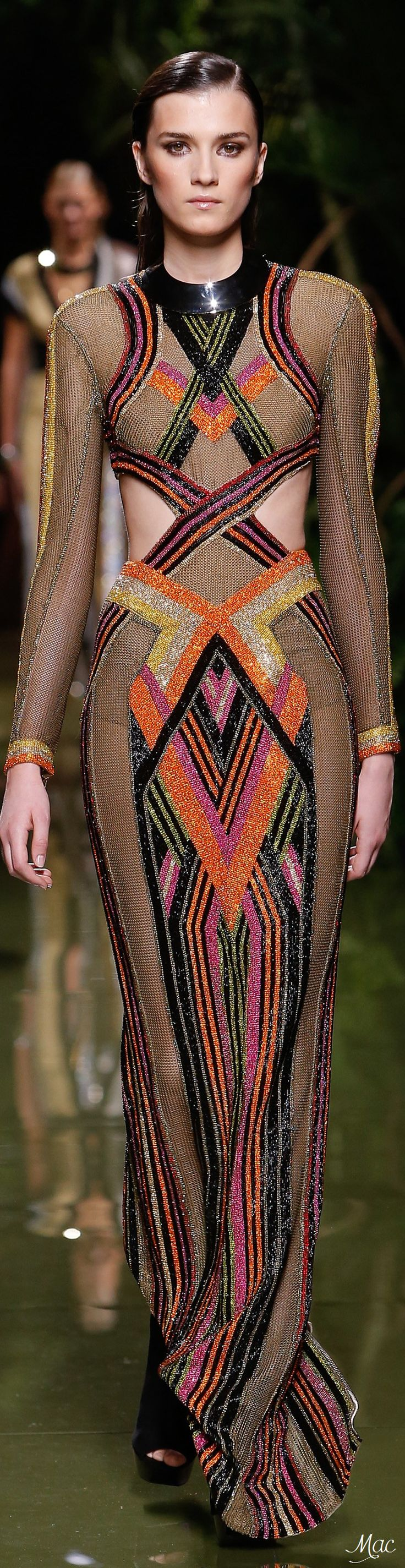Spring 2017 Ready-to-Wear Balmain