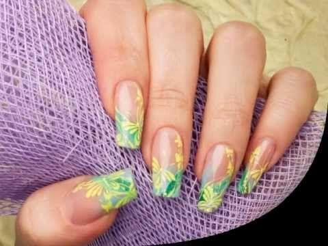 Corso decorazione unghie - Passo a passo: Farfalle gialle
