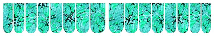 'marbled jade' nail wrap design by appliq