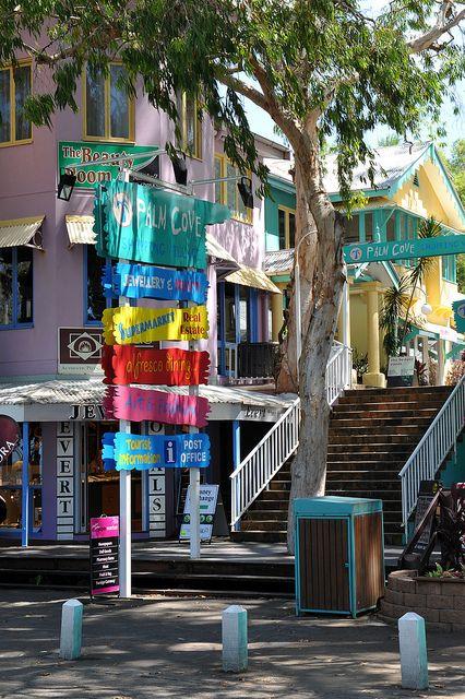 Palm Cove shops April 2011