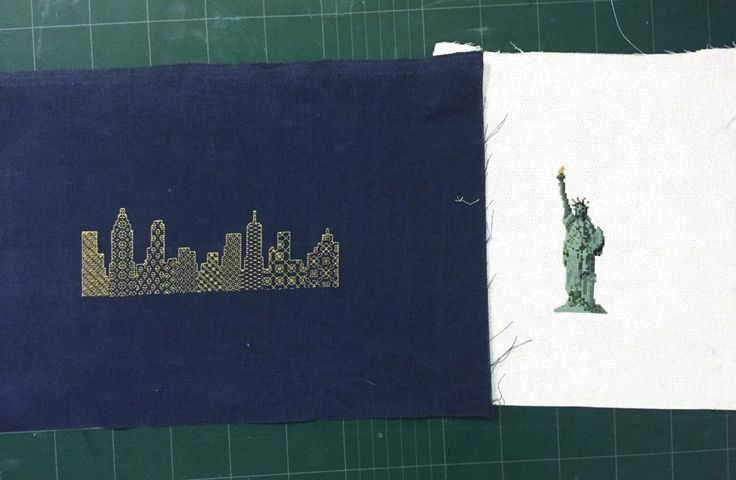 Gifts I Made - New York Cross Stitches