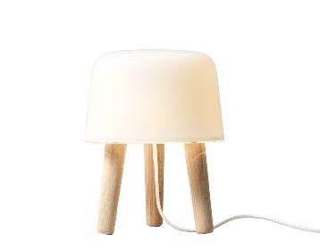 - Milk bordlampe, 995 kr.