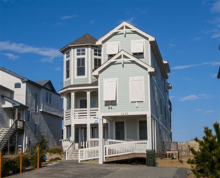 Nirvana 762 L Nags Head Nc Outer Banks Vacation Rental Home L Oceanfront Home With Eight
