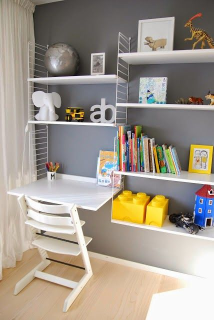 the boo and the boy: kids' desks