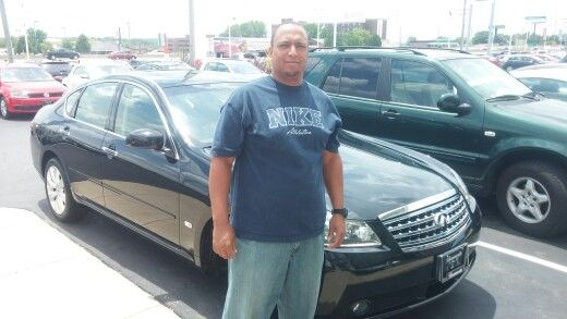 Cortez Slack a big congratulations on your Infiniti M35x!  I think it is great that you are surprising your wife with it. I am glad we connected:)  Jay Grosman Www.TalkingCarsWithJay.com Bommarito St.Peters