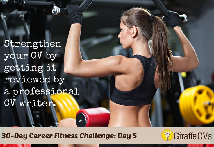 Day 5: Strengthen your CV by getting it reviewed by a professional CV writer. http://www.giraffecvs.co.uk