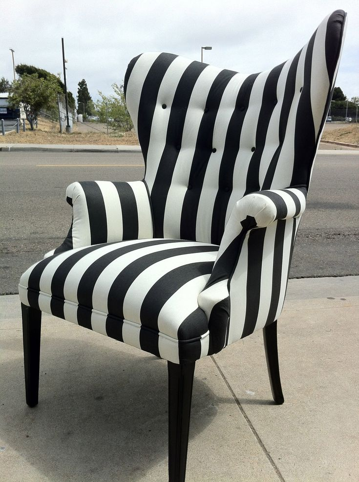 Best 20 Striped Chair Ideas On Pinterest
