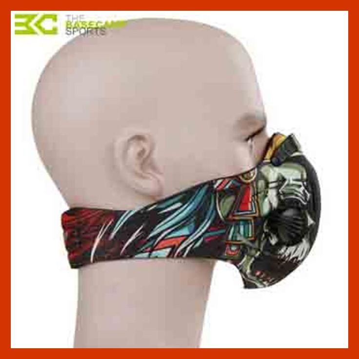 2017 Basecamp Cycling Mask With Filter 10 Colors Half Face Carbon Bicycle Bike Training Mask Mascarilla Polvo Mascaras Ciclismo