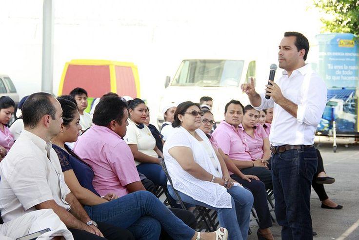 Sustentabilidad y Nuevo sistema de transporte aumentarán competitividad de la Marca Mérida: Mauricio Vila