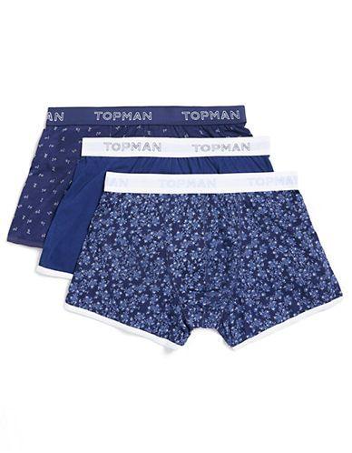 Topman Blue Florist Boxer Briefs - Size S