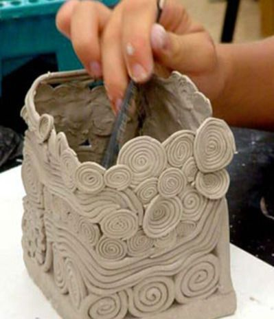 handbuilding with clay | Coil Pots - Clay Handbuilding Lessons