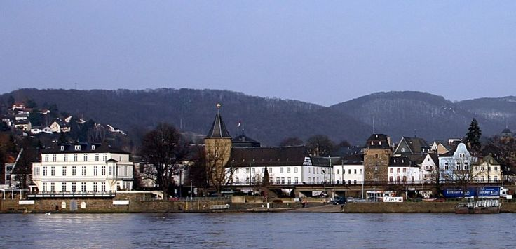 Linz am Rhein in western Germany.  My grandparents lived in a village fairly near this town.  /NSC (adapted from a photo by René Rondot, CC-by-SA 3.0)