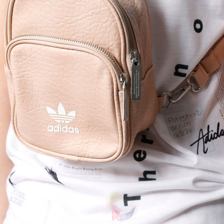Mini backpack from the Info Poster drop by adidas Originals
