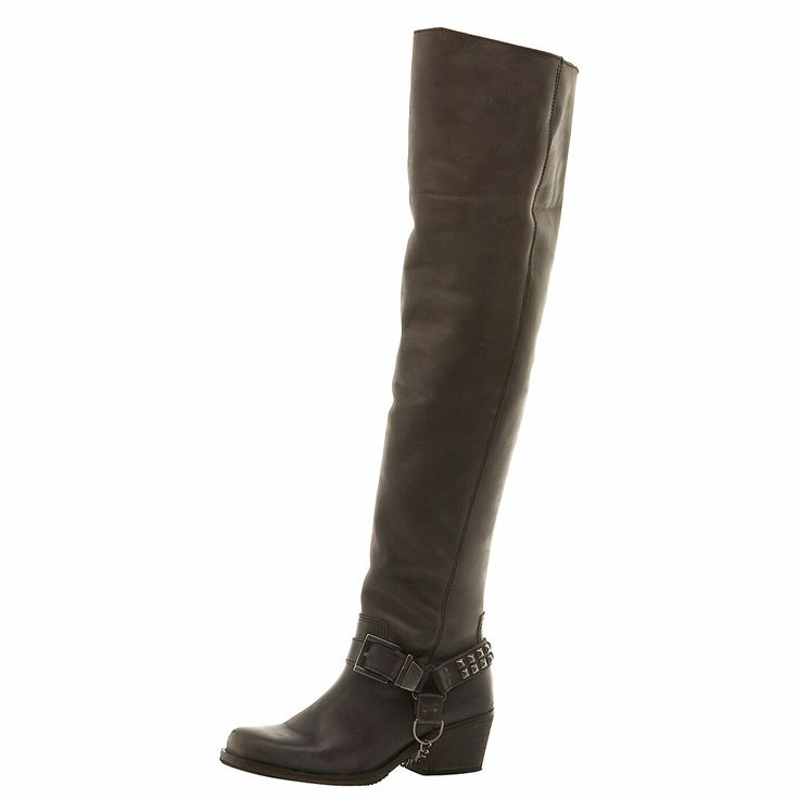 flat thigh boots shoes