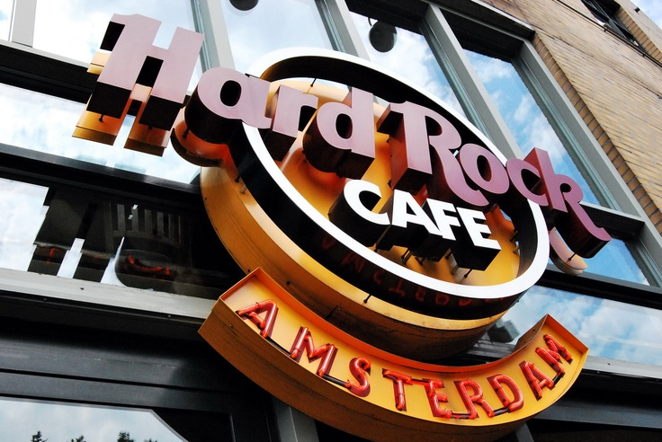 When I lived in Holland, I was lost trying to find this Hard Rock cafe in Amsterdam