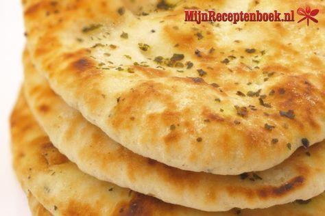 Knoflook Naan brood recept