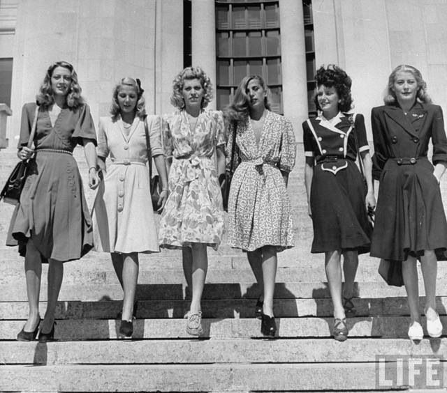 Stylish dames.