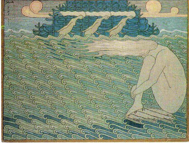 Joseph Alanen, motif from Kalevala (1919-1920)