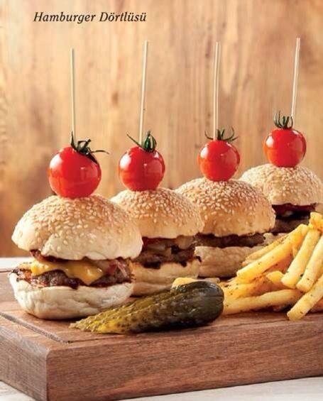 Nefis hamburger dörtlüsü