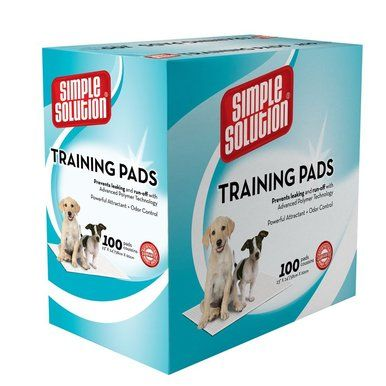 Simple Solution Original Training Dog Pads No Leak Odorless 23X24 inch 100 count