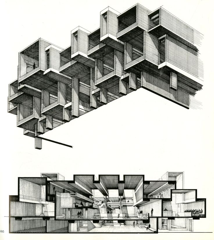 architecture section drawing | Drawing ARCHITECTURE
