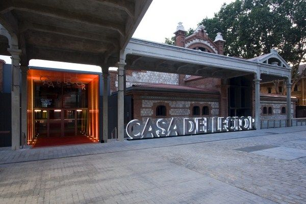 Casa del Lector, brilliant project in the old slaughterhouse of Madrid.