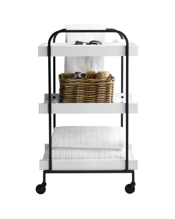 Store It Away And Roll It Away With The HJÄLMAREN Cart.