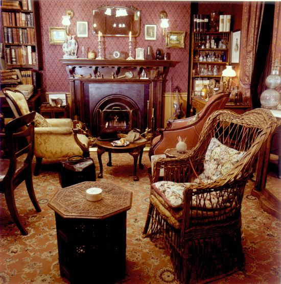 """What a curious creature you are,"" he noted blandly from the depths of the wicker chair... The Sherlock Holmes Museum at 221B Baker Street (image: © The Sherlock Holmes Museum)"