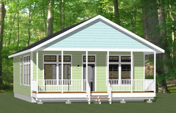 28x36 House 28x36h3a 3 Bedroom 2 Bath Home Sq Ft 1 008 Building Size 28 0 Wide 46 Shed To Tiny House Craftsman House Plans House Plans Farmhouse