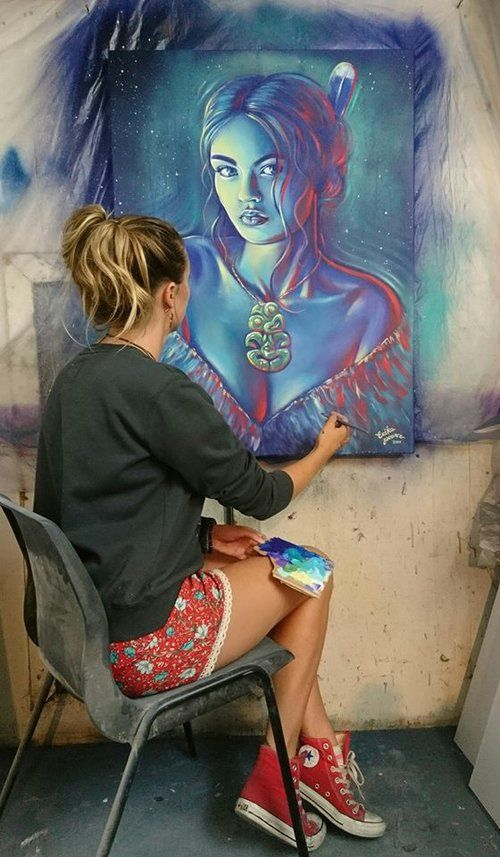 paina - artists studio  - Erika Pearce - New Zealand artist