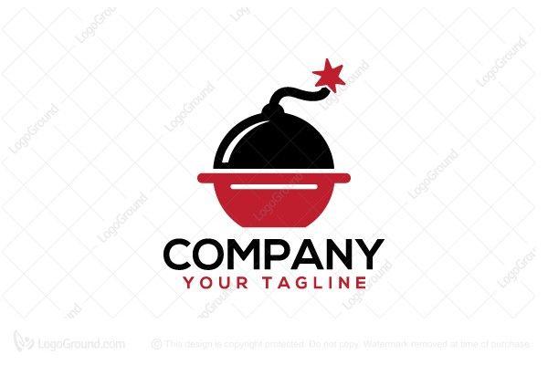 Weird Food Logo 3
