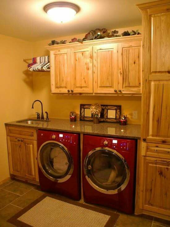 From Renee, I love this idea!  I wanna do this to our laundry room make-or-break…