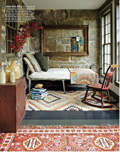 vintage/ethnic kelim rugs in various sizes/patterns/colours mix 'n match