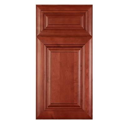Home Decorators Collection, In. Cabinet Sample Door In Lyndhurst Cabernet,  At The Home Depot   Mobile