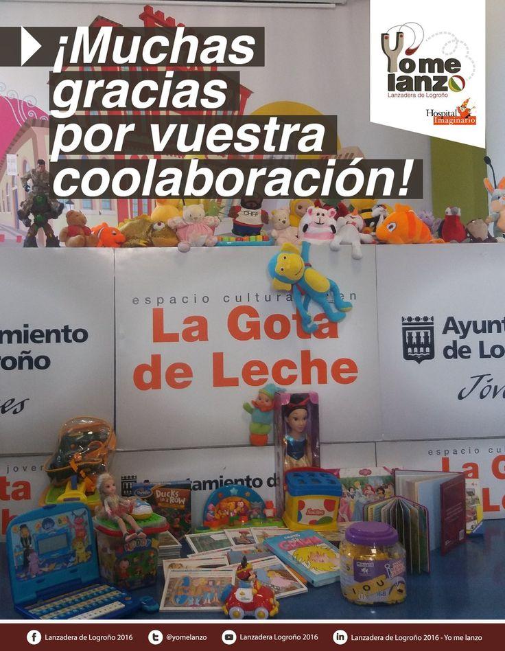 Muchas gracias por los juguetes, hemos cerrado la recogida pero aún se puede entregar juguetes en IMCA e Ibercaja https://t.co/6eZXwbdcVy