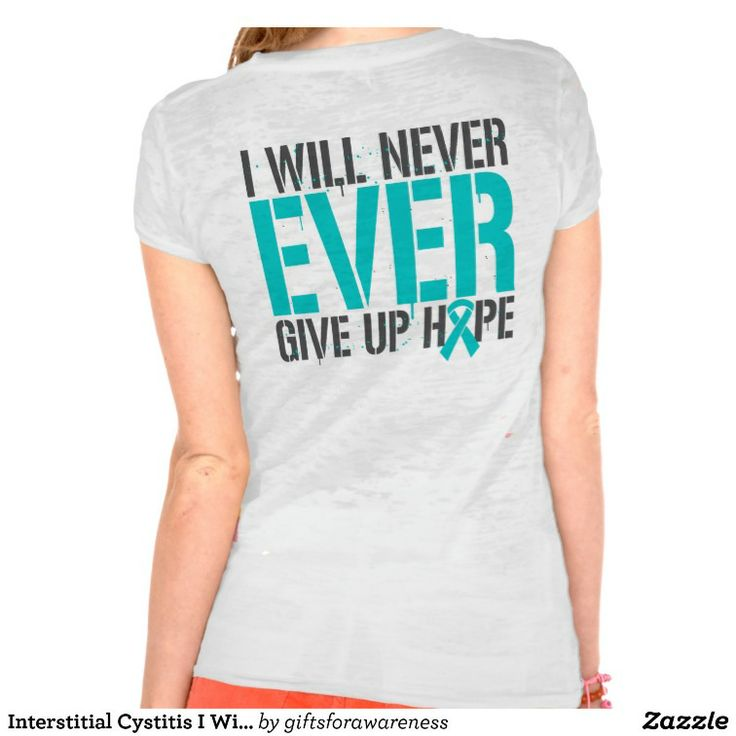 I will never give up hope t shirts by www giftsforawareness com