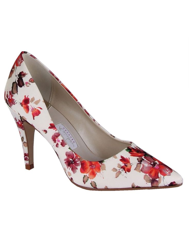 Rainbow Club Valentina floral court shoes, Multi-Coloured