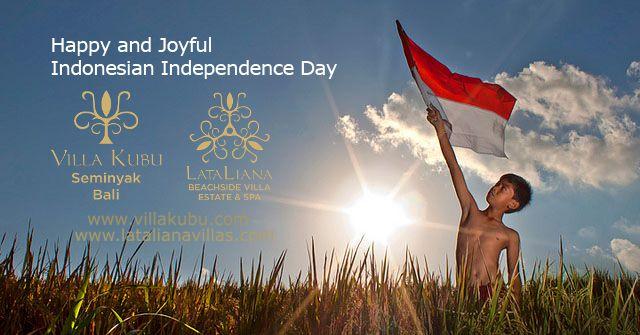 Wishing everyone a safe and peaceful celebration. Happy Independence Day, Indonesia! From all of us at #VillaKubu and #LataLianaVillas   www.villakubu.com www.latalianavillas.com #indonesia #independenceday #celebration #victory #luxury #balivilla #tropicalparadise #globetrotter #seminyak #bali