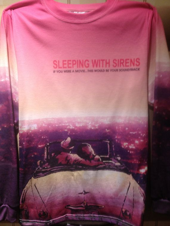 Sleeping with Sirens unisex longsleeve crewneck by ExclusiveMerch, $34.99