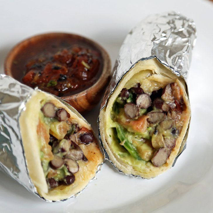 Pin for Later: The Ultimate Guide to Tex-Mex Recipes Easy Vegetarian Burrito Get the recipe: easy vegetarian burrito