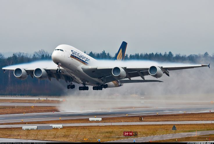 Singapore Airlines 9V-SKN Airbus A380-841 aircraft picture