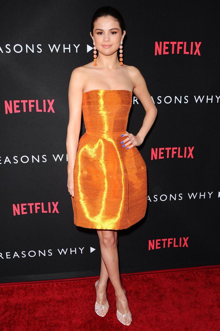 Selena Gomez in Oscar de la Renta, 2017