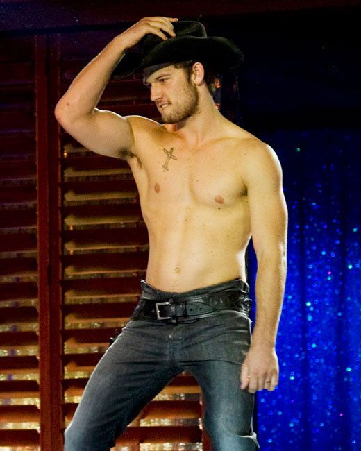Alex Pettyfer in Magic Mike. Sure, wannabe stripper Adam's shirtless presence may result in female strip club patrons having wallets as empty as his head. But isn't charisma more than skin deep? Even if so much of the movie is about Adam's rise and fall, there's a reason Channing Tatum's Magic Mike is the title character.