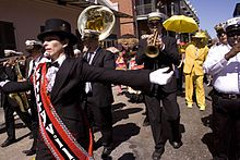 Be sure to take in and participate in a Second Line Parade when you are in Nola -- they are everywhere.