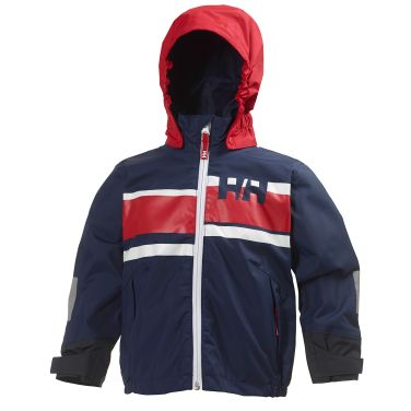K ALBY JACKET Perfect as a sailing jacket or for everyday use, this kids´ jacket offers Helly Tech® construction for protection and comfort.